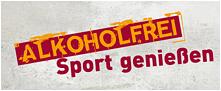 """Aktionslogo der BZgA-Kampagne """"Alkoholfrei Sport genießen"""""""