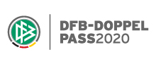 "Logo der DFB-Initiative ""DFB-DOPPELPASS 2020"""